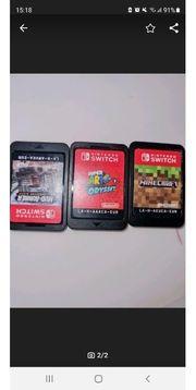 Nintendo switch spiele 3 Stück