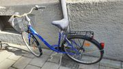 28 - Hercules Fahrrad mit tiefem