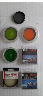 Objektiv-Filter 7 verschiedene von Hoya