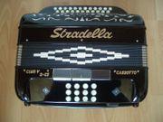Handharmonika Ziehharmonika Akkordeon diatonisch - STRTADELLA