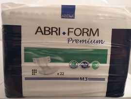 Windeln für Erwachsene : ABENA ABRI-FORM M3 Premium; 2 Packungen a`22 Stück