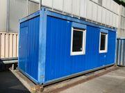 Bürocontainer Baustellencontainer Gartencontainer