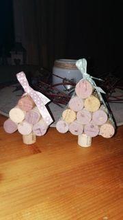 Tannenbaum aus Korken - Geschenk Deko