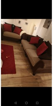Big Sofa kolonial mit Sessel