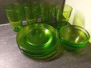 Glasteller Gläser