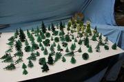 Modellbau 107 diverse Bäume Modellbaulandschaft