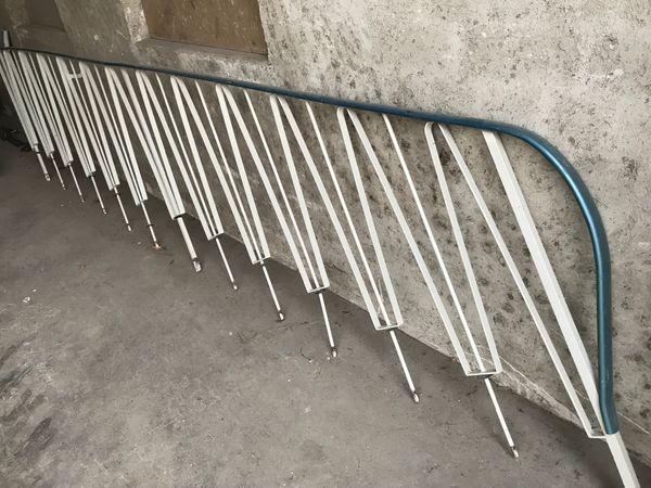 Treppengeländer aus Eisen