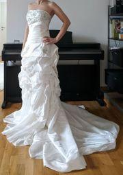 Schönes Brautkleid A-Linie Prinzessin trägerlos