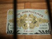 Hornsteiner Doppelhalsgitarre uralt und gut erhalten