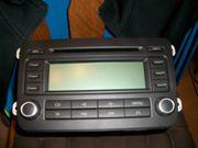 Auto-Radio mit CD-Schacht