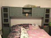 Grünes Schlafzimmer - Schränke - Haushaltsauflösung