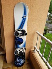 Snowboard inkl Bindung 150 cm