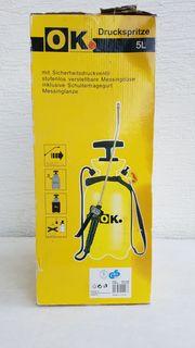 Garten-Druckspritze unbenutzt Marke OK