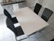 Esstisch ausziehbar auch mit Stühlen