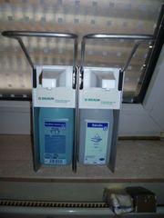 1 Desinfektionsspender 1 Seifenspender von