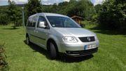 VW Caddy mit verlängertem Radstand