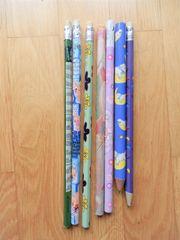 Konvolut Bleistifte - unbenutzt Blumen Hasen