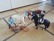 Schleich Pferde Reiterset aus 2013