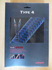 Audioquest Type 4 Lautsprecher Kabel