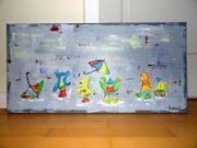Acrylbild Gemälde Wandbild abstrakte Kunst