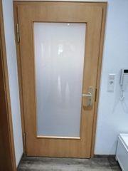 2 x Zimmer Holztür mit