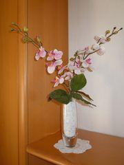 Vase aus Glas mit 3