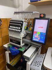Profi Stickmaschine mit 15 Nadel