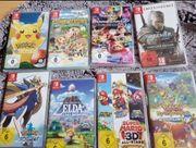 Top Spiele Auswahl Nintendo Switch