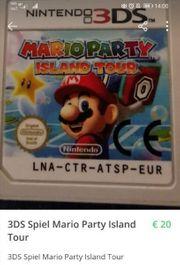 3DS Spiel Mario Party Island