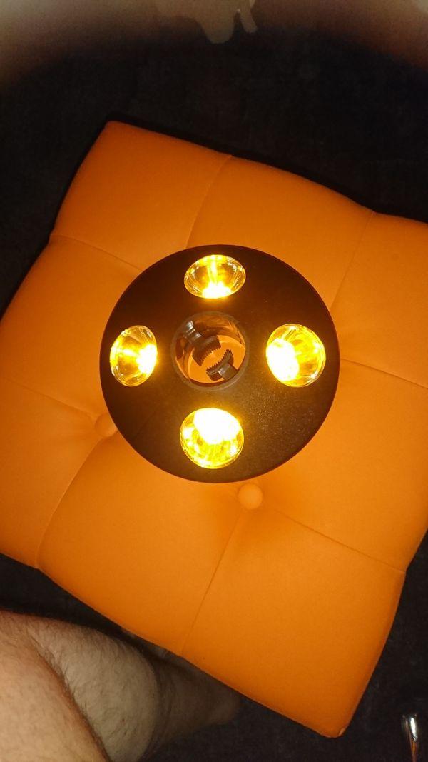 LED Leuchte Gartenschirm NEU