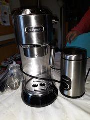 Delonghi Espressomaschine mit Kaffeemühle Neuwertig