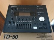 Roland TD-50 Schlagzeug Modul drum-tec