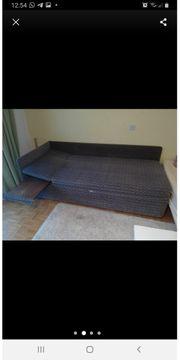 Sofabett Schlafsofa Couch Gästebett Bett