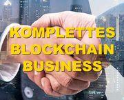 Unabhängiges Blockchain- Kryptowährungs- Exchange- und