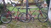 2 ältere Mountainbikes