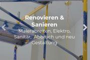 Renovierung Sanierung Zuverlässig Maler Experten