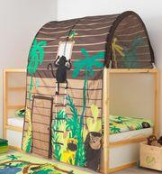 KURA Kinderbett mit Dschungelbaldachin