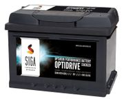 SIGA OptiDrive 63Ah 12V Autobatterie