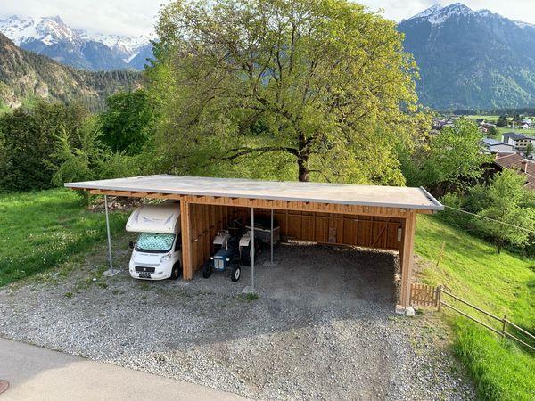 Holzschuppen Garage Stall Unterstellplatz