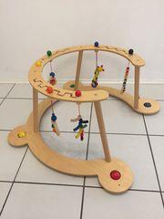 Baby Spiel- und Lauflerngerät aus