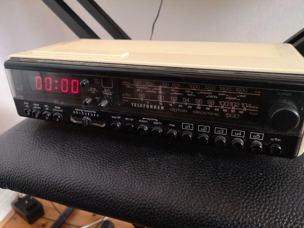 Vintage Radiowecker Telefunken Digitale Electronic