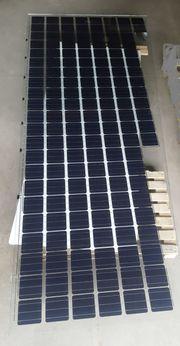 Vordach mit Stromgewinnung