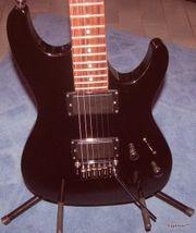 Verkaufe Ibanez SA120EX-BK E-Gitarre Powerstrat