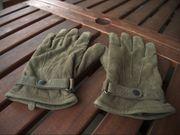 Barbour Lederhandschuhe - Größe XL olivgrün