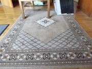 Teppich braun gemustert 150 x