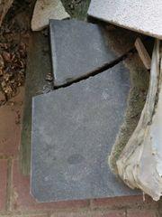 Natursteinplatten Bruchsteinplatten Anthrazit