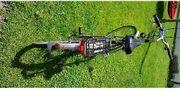 Wir verkaufen ein gebrauchtes Fahrrad