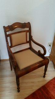 Biedermeier Armlehnen Stuhl Schreibtisch-Sessel