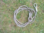 Stahl Seil mit Kauschen