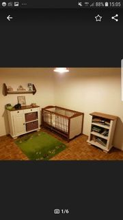 Paidi Kinderbett Kommode Wickeltisch